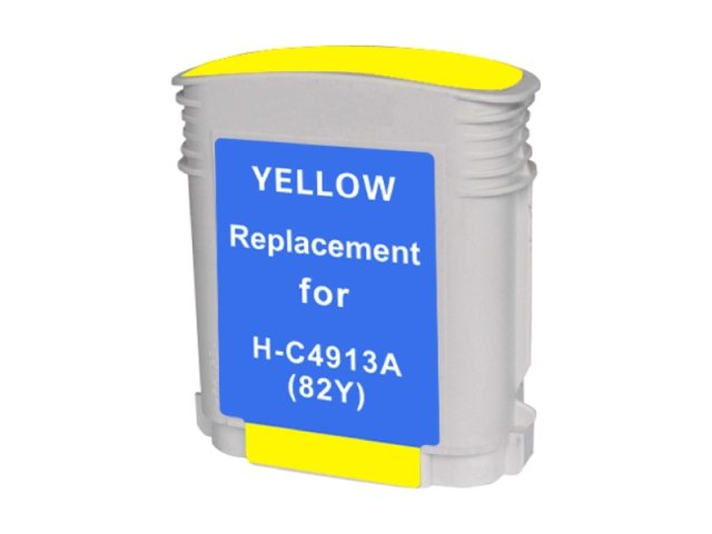 Compatible Cartridge for HP #82 YELLOW (C4913A)