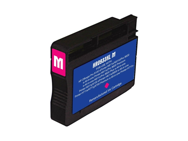 Compatible Cartridge for HP #933XL MAGENTA (CN055AN)