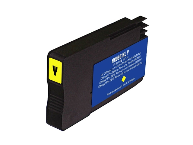 Compatible Cartridge for HP #951XL YELLOW (CN048AN)