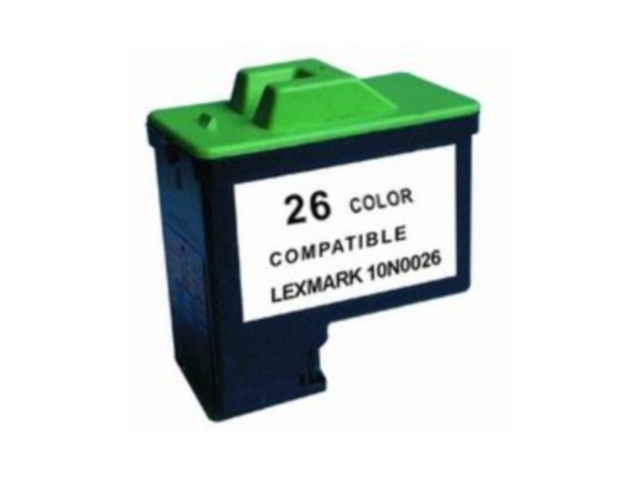 Compatible Cartridge for LEXMARK #26 COLOR (10N0026)