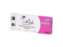 220ml LIGHT MAGENTA Compatible Cartridge for Roland ECO-SOL MAX 2 Printers (ESL4-LM)