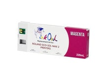 220ml MAGENTA Compatible Cartridge for Roland ECO-SOL MAX 2 Printers (ESL4-MG)