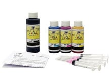 Combo Kit for use in CANON printers - dye-based black ink