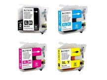 4-Pack Compatible Cartridges for BROTHER LC103