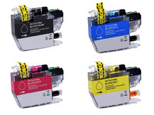 4-Pack Compatible Cartridges for BROTHER LC3013