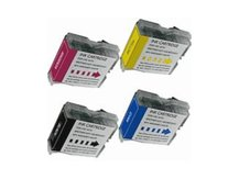 4-Pack Compatible Cartridges for BROTHER LC51