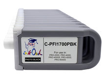 12-pack 700ml Compatible Cartridges for CANON PFI-1700