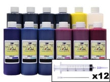 12x250ml Ink Refill Kit for CANON PFI-1000 (PRO-1000)