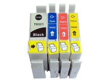 4-Pack Replacement Cartridges for EPSON T0321-T0324