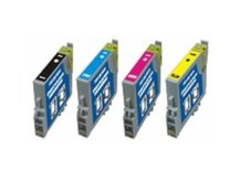 4-Pack Replacement Cartridges for EPSON T0601-T0604 (#60)