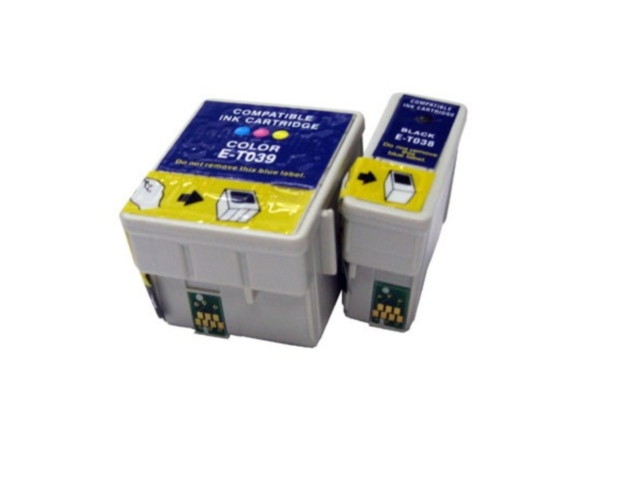 2-Pack Replacement Cartridges for EPSON T038/T039
