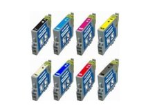 8-Pack Replacement Cartridges for EPSON T0540-T0549
