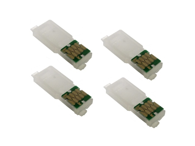 Single-Use Chips (4-pack) for EPSON 288, 288XL *NORTH AMERICA*