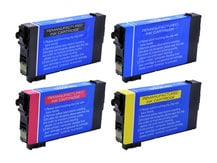4-Pack Replacement Cartridges for EPSON #802 BLACK, #802XL COLOR