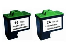 2-Pack Compatible Cartridges for LEXMARK #16/#26