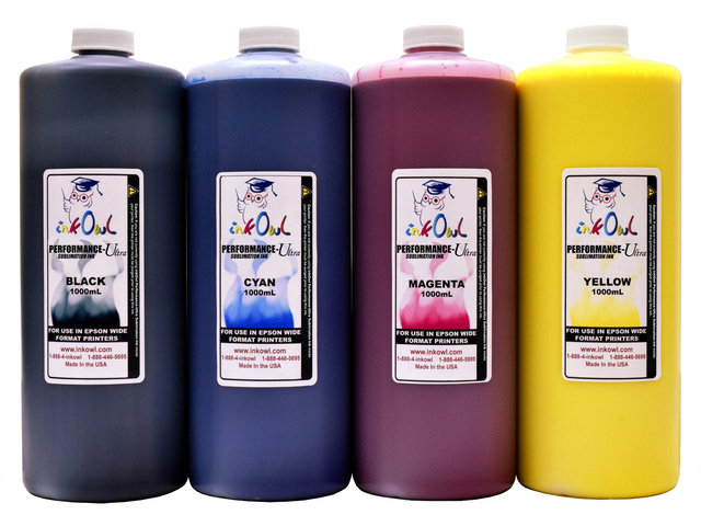 4x1000ml Performance-Ultra Sublimation Ink for Epson Wide