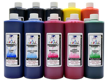 10x500ml Performance-X Sublimation Ink for Epson Wide Format Printers