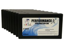 8-Pack 220ml Performance-X Sublimation Cartridges for Epson Stylus Pro 9880