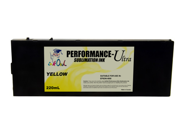 220ml YELLOW Performance-Ultra Sublimation Cartridge for Epson Stylus Pro 4800