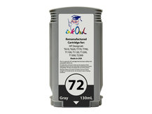 Remanufactured 130ml HP #72 GRAY Cartridge for DesignJet T-series (C9374A)