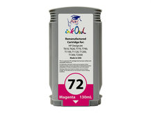 Remanufactured 130ml HP #72 MAGENTA Cartridge for DesignJet T-series (C9372A)