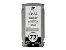 Remanufactured 130ml HP #72 MATTE BLACK Cartridge for DesignJet T-series (C9403A)