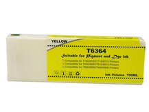 700ml Compatible Cartridge for EPSON Stylus Pro 7700, 7890, 7900, 9700, 9890, 9900 YELLOW (T6364)
