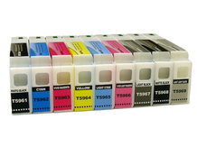 9-Pack 350ml Compatible Cartridges for EPSON Stylus Pro 7890, 7900, 9890, 9900