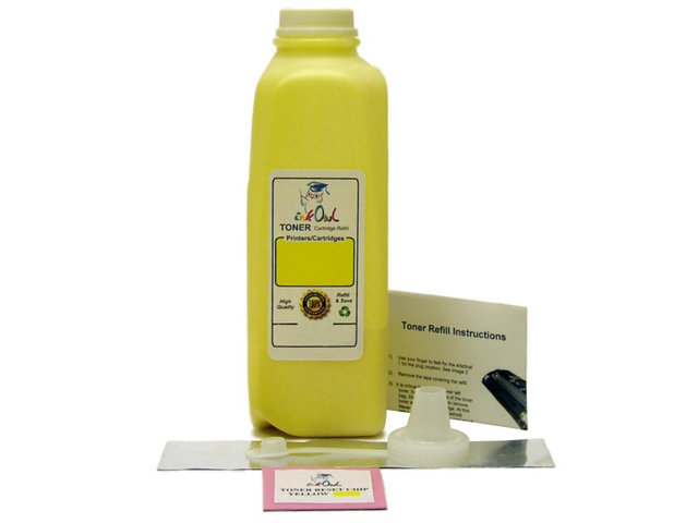 1 YELLOW Laser Toner Refill Kit for use in HP CE262A (648A)