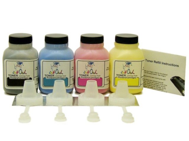 4-Color Laser Toner Refill Kit for BROTHER TN-331, TN-336, and others