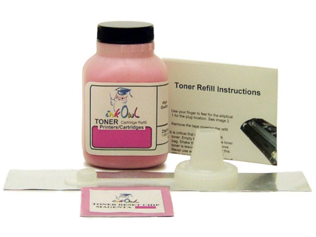 1 MAGENTA Laser Toner Refill Kit for use in HP CC533A (304A)