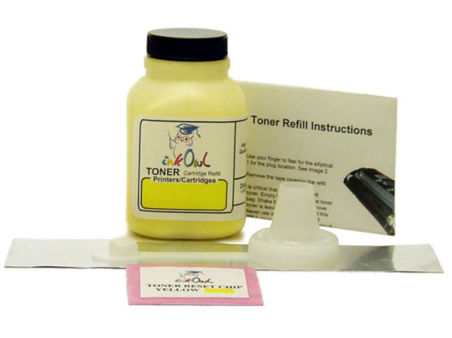 1 YELLOW Laser Toner Refill Kit for use in CANON Type 131, 331, 731