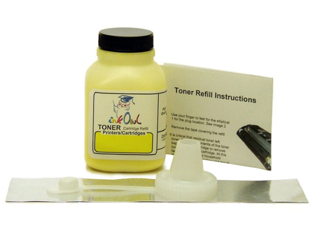 1 YELLOW Toner Refill Kit for use in CANON Type 045 and 045H