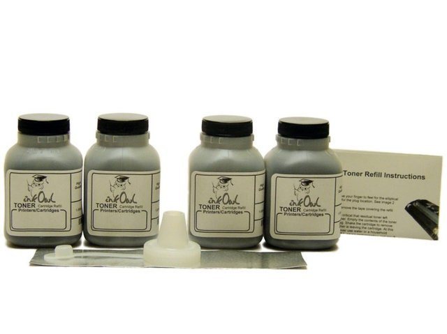 4 Laser Toner Refills for use in HP C3906A (06A) and C4092A (92A)