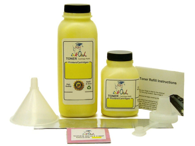 1 YELLOW Laser Toner Refill Kit for XEROX 6280