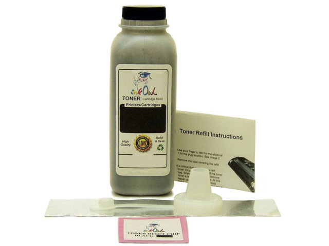 1 BLACK Laser Toner Refill Kit for use in HP 1500, 2500