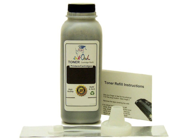 1 BLACK Laser Toner Refill for TN-110, TN-115, TN-130, TN-135, and others