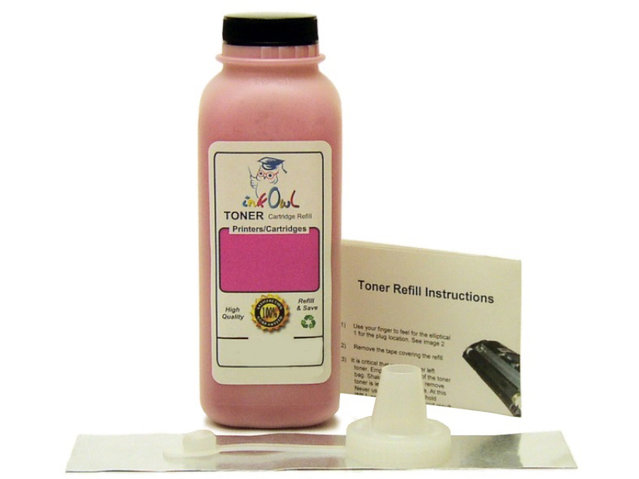 1 MAGENTA Laser Toner Refill for TN-110, TN-115, TN-130, TN-135, and others